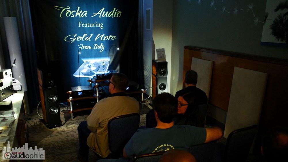 AXPONA 2018: Italians do it better, Toska Audio presents Gold Note