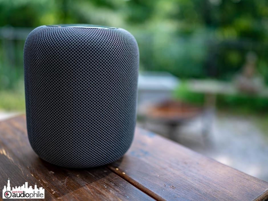 The Apple HomePod smart speaker