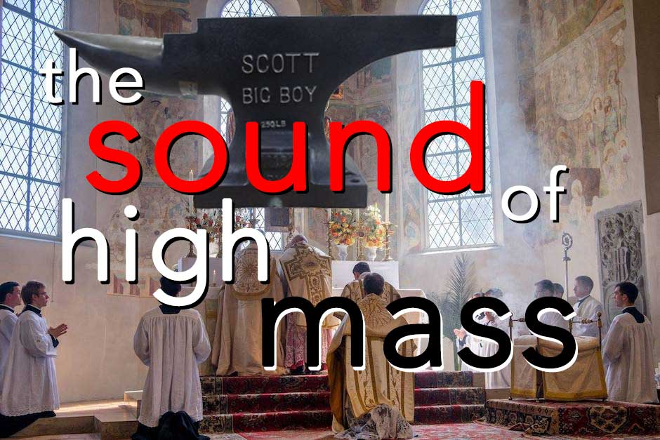 It Must Be Sunday, For I'm Hearing Mass