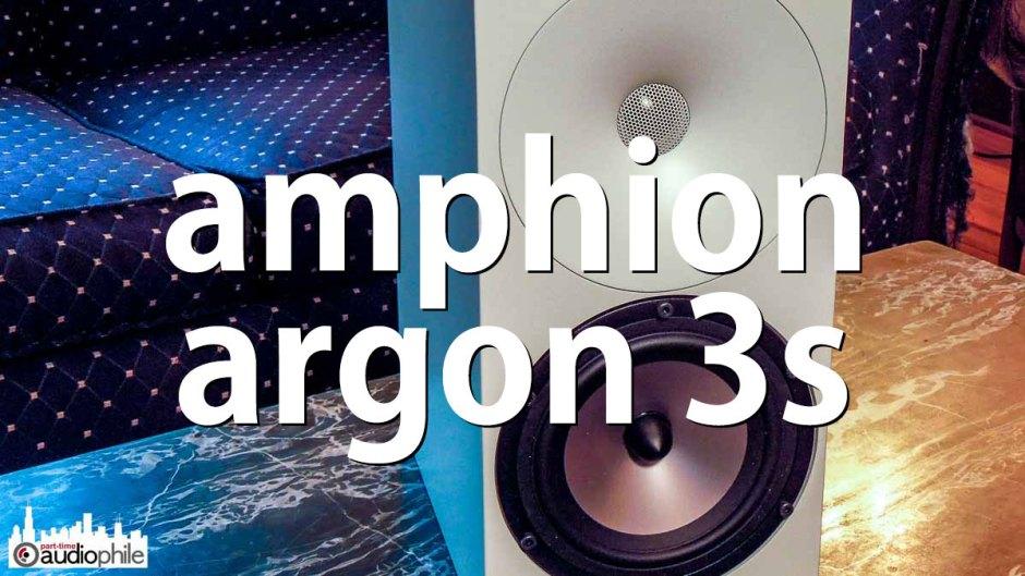Amphion Argon 3S