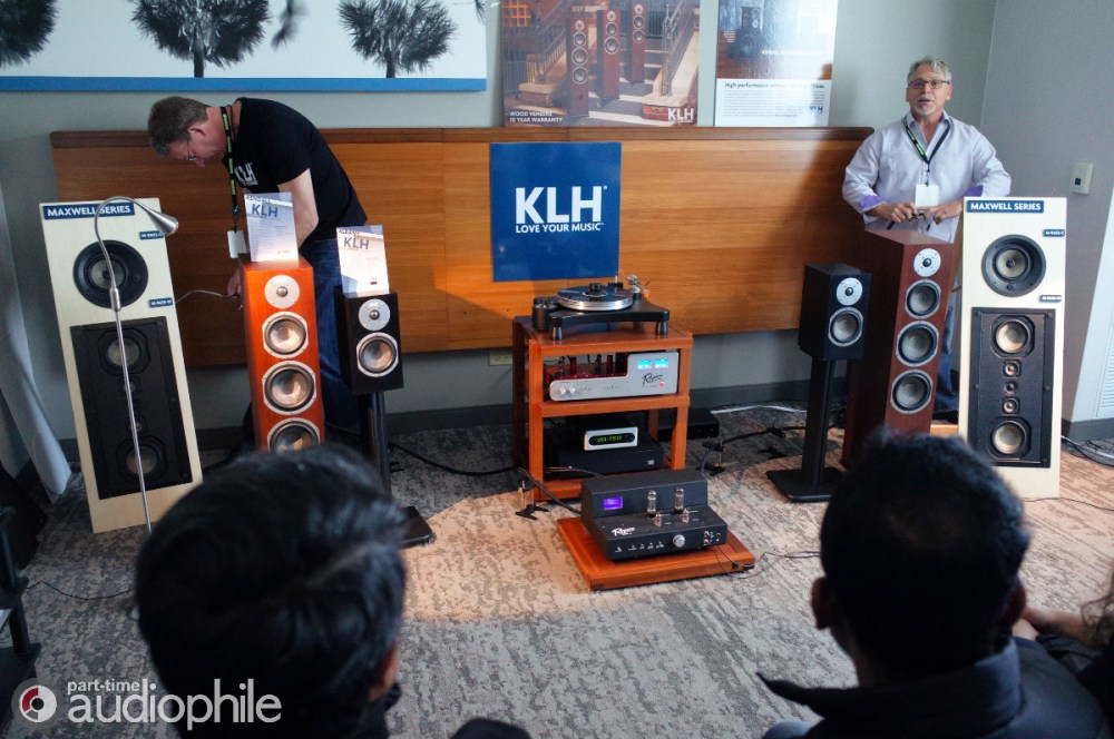 KLH, Rogers High Fidelity, VPI Industries, Wolf Audio, Bel Canto | AXPONA 2019