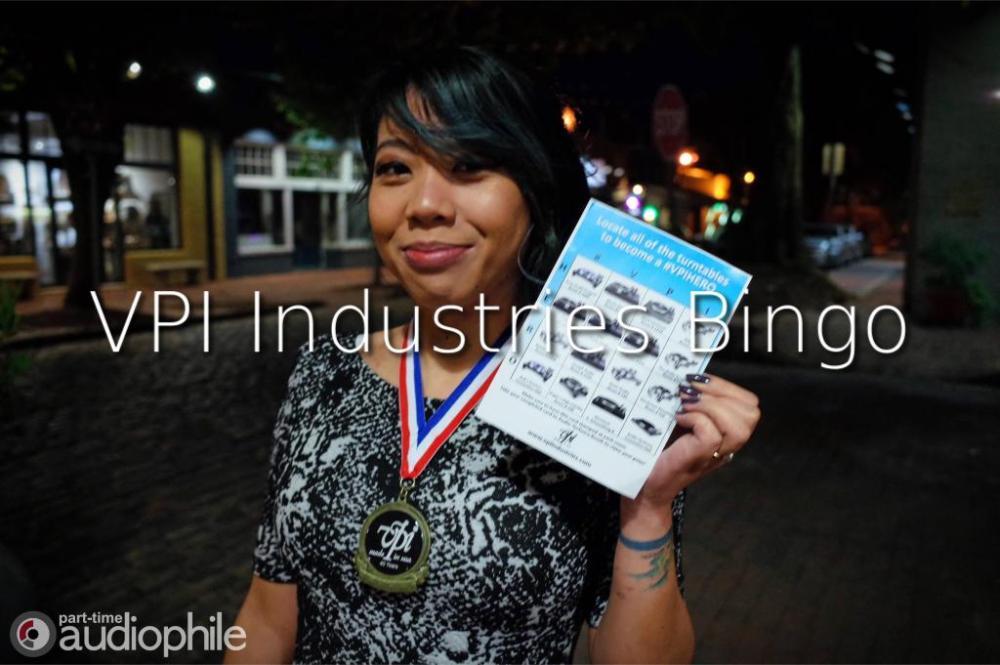 VPI Industries Bingo | AXPONA 2019