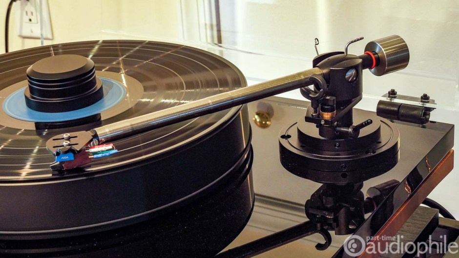 Gold Note B7 tonearm