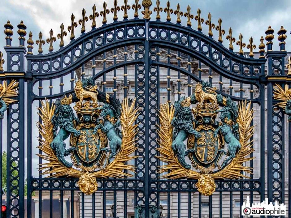 Gates at Buckingham Palace
