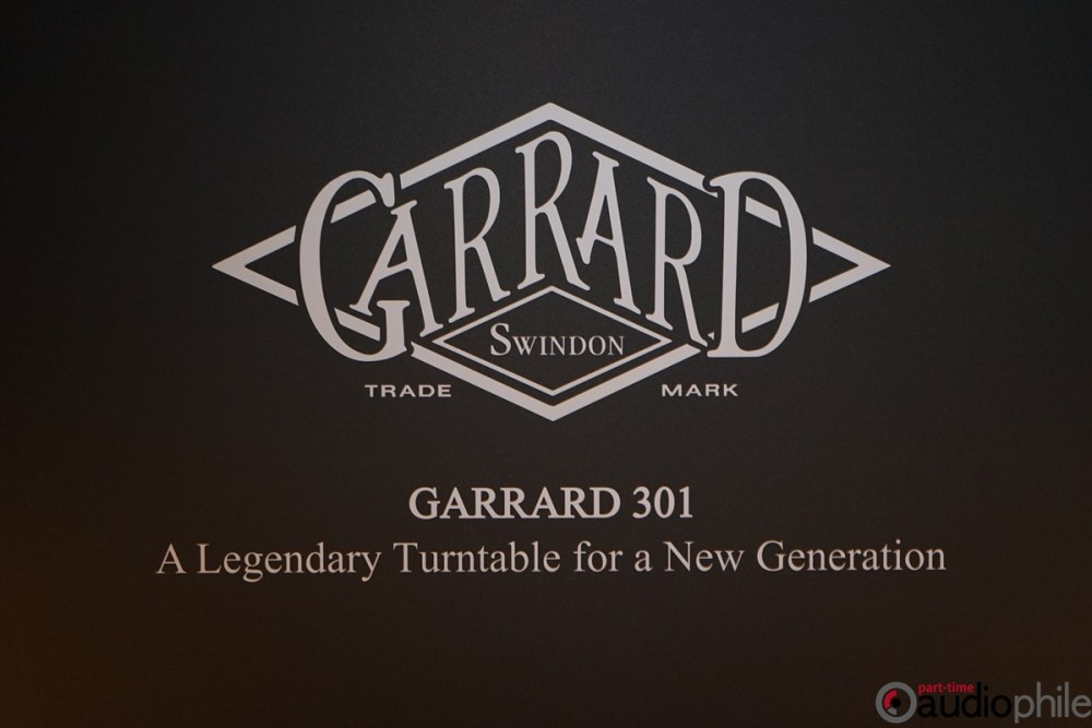 The Garrard 301 is back! (sort of) | High End 2019
