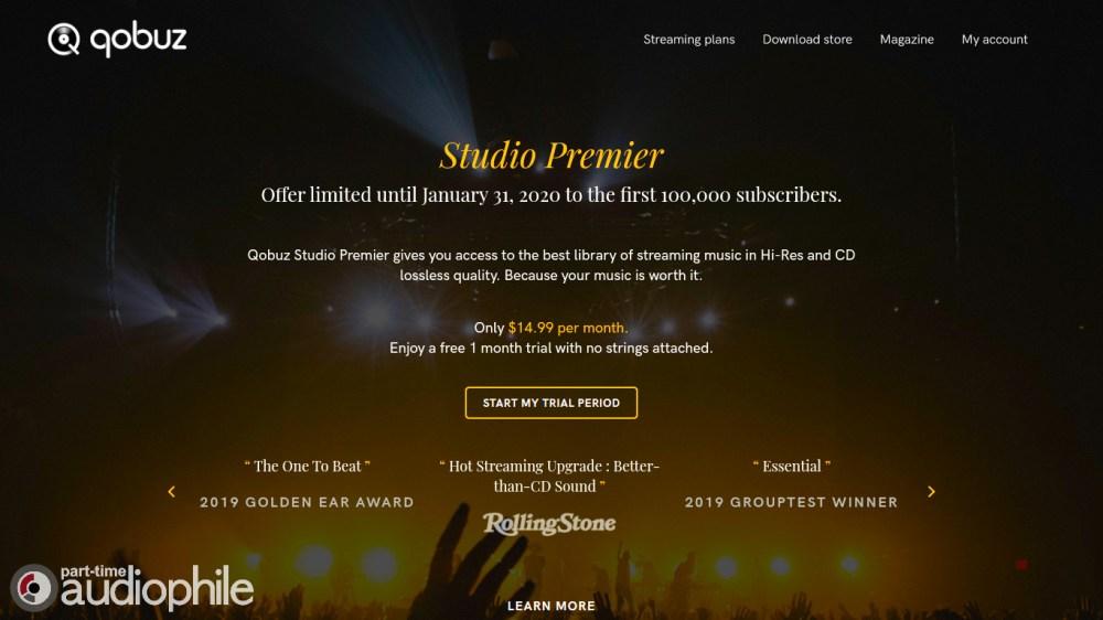 Qobuz Studio Premier NYAS 2019
