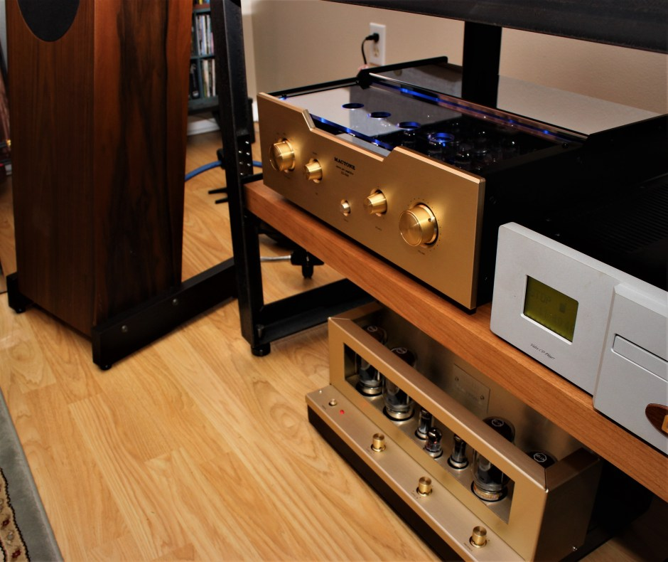 Mactone MH-120 Amplifier and XX-7000 Preamplifier
