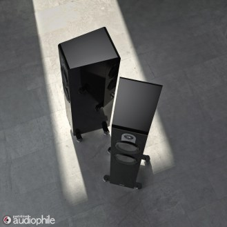 Parker Trio black piano pair high angle 2
