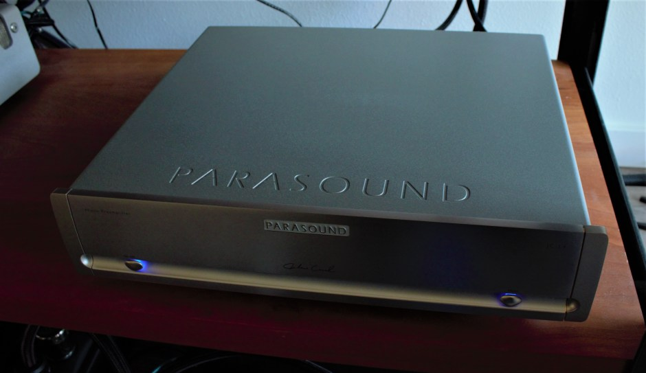 Parasound phono preamplifier.