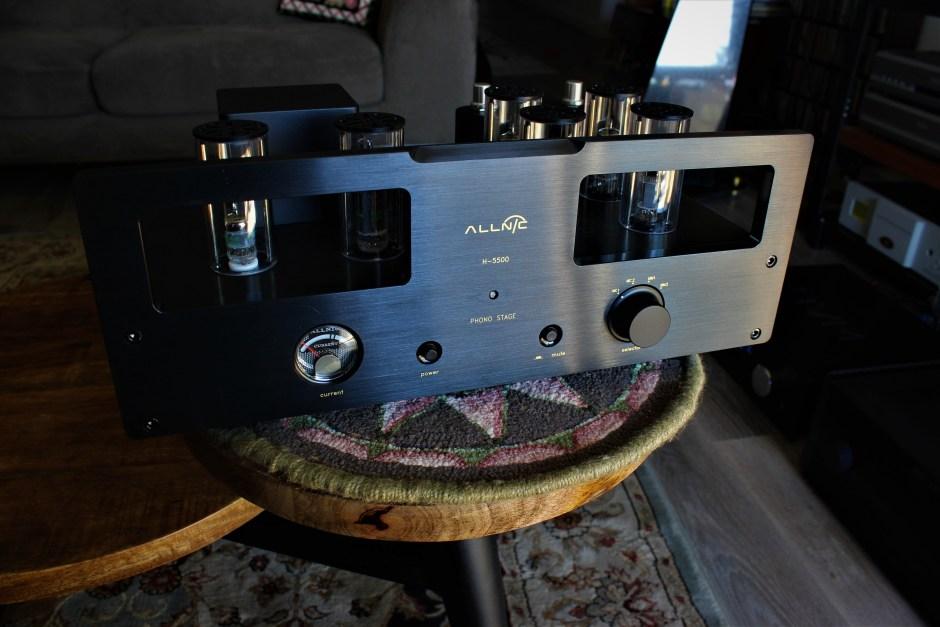 allnic audio h5500 phono preamplifier