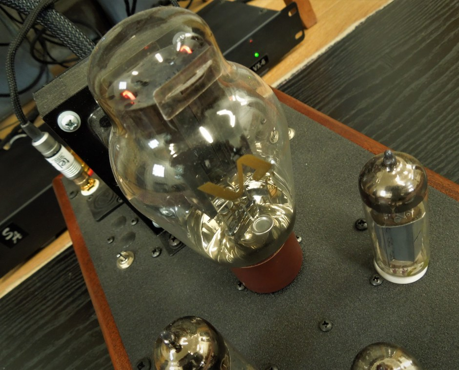 Single-ended triode amplifier from Decware.