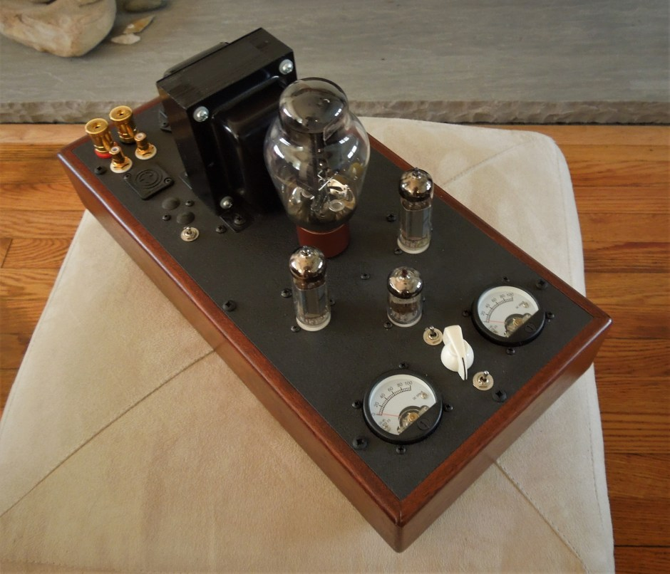 This Decware tubed power amplifier has just two watts per channel!