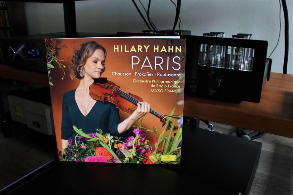 hilary hahn paris, music from chausson, prokofiev