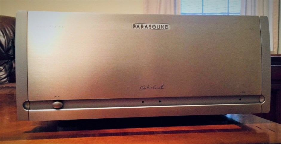 parasound halo jc 5 power amplifier