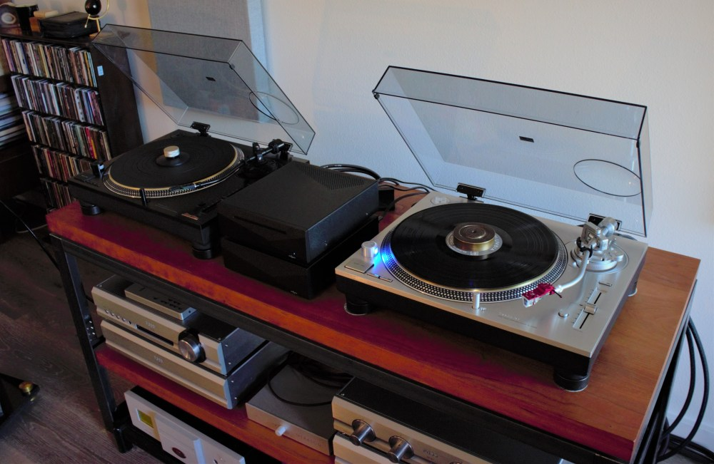 fern and roby brass record weight with technics