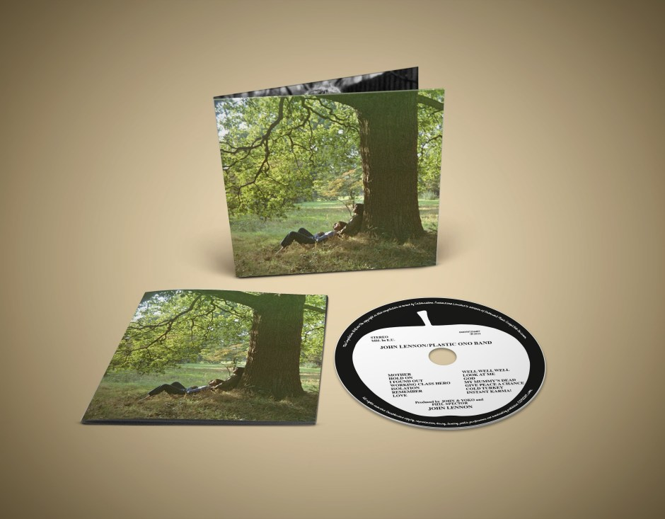 plastic ono band cd package