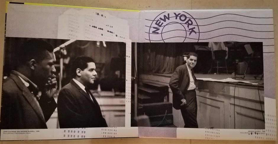 gatefold for new york, n.y.