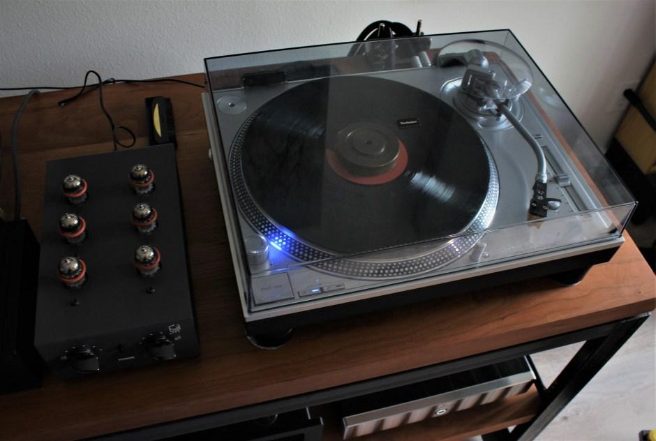 hagerman audio labs trumpet mc with technics