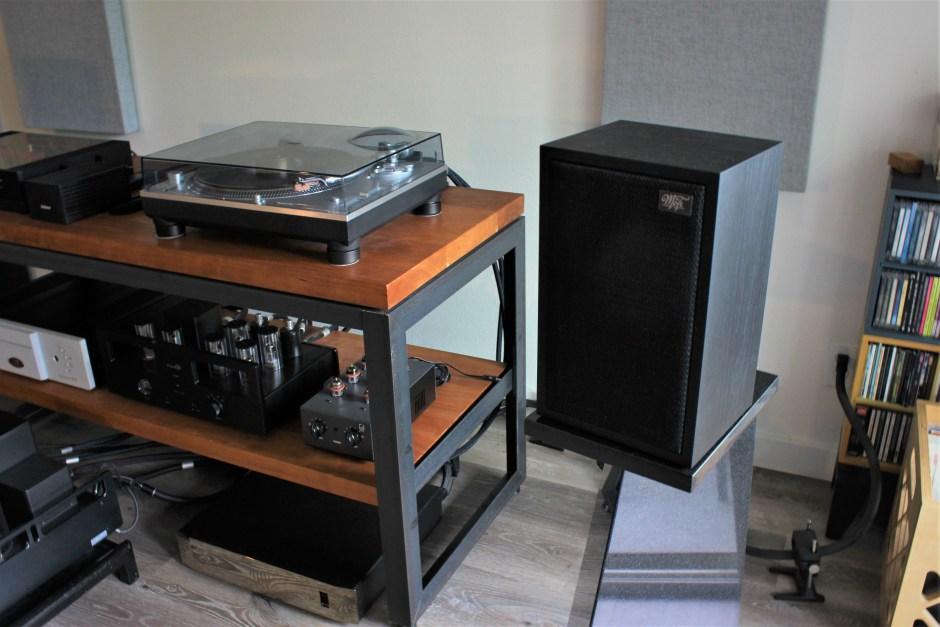 falcon acoustics ls3/5a mofi edition in marc phillips system