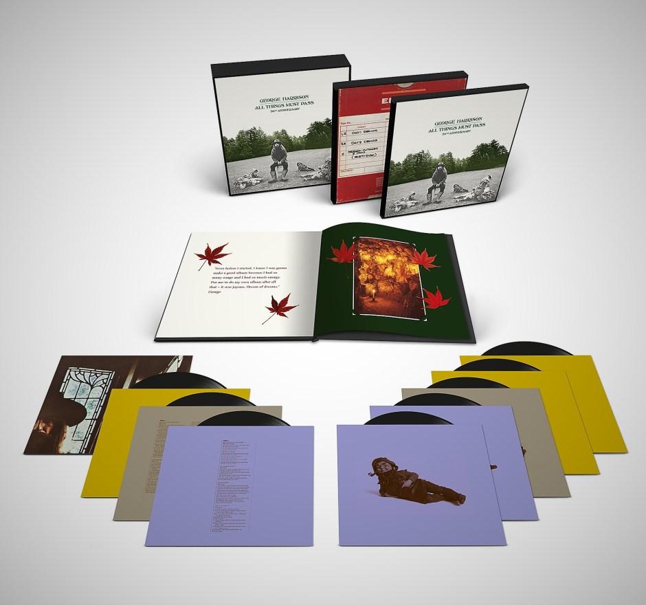 box set of 50th anniversary george harrison