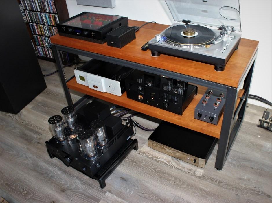 allnic audio, technics, hagerman, brinkmann with totaldac d100