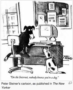 Peter Steiner's most famous cartoon