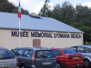 One of many D-Day museums along the coast road