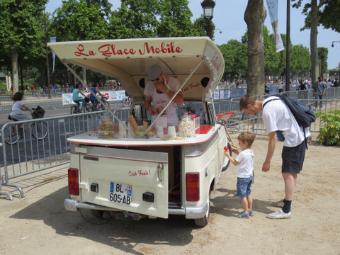 Anybody for ice cream? It was really good.