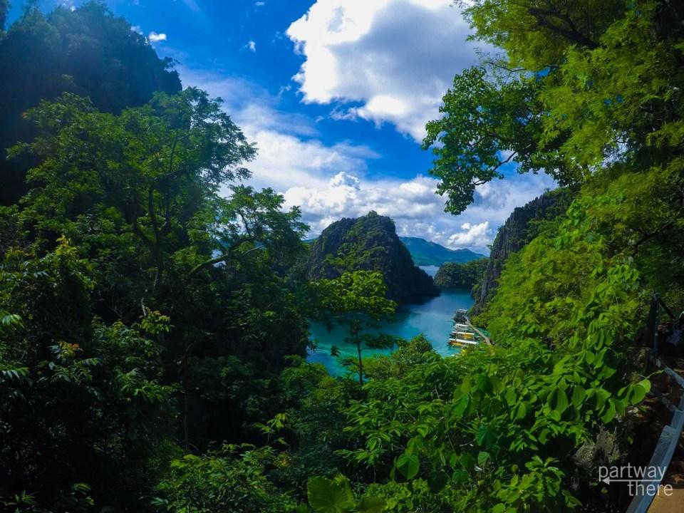 Kayangan Lake in the Philippines