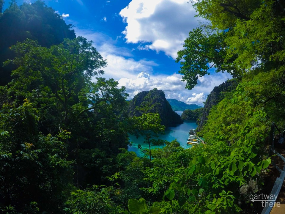 Kayangan Lake in the Philippines
