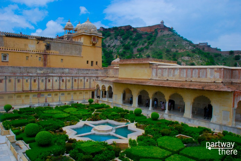 A palace in Jaipur