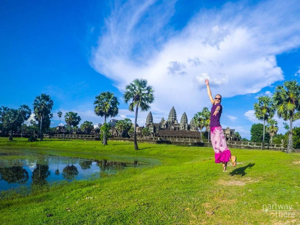 Angkor Wat fun - taken with a GoPro