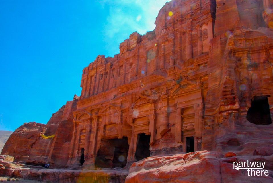 The royal tombs at Petra