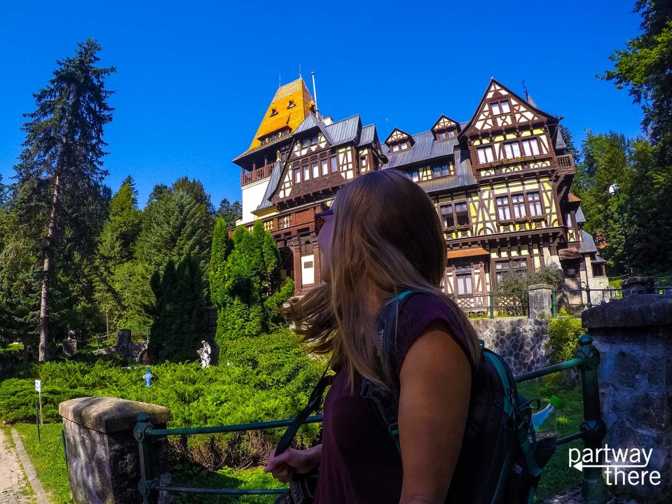 Amanda Plewes at Pelisor Castle
