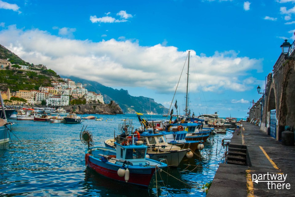 Boats in Amalfi