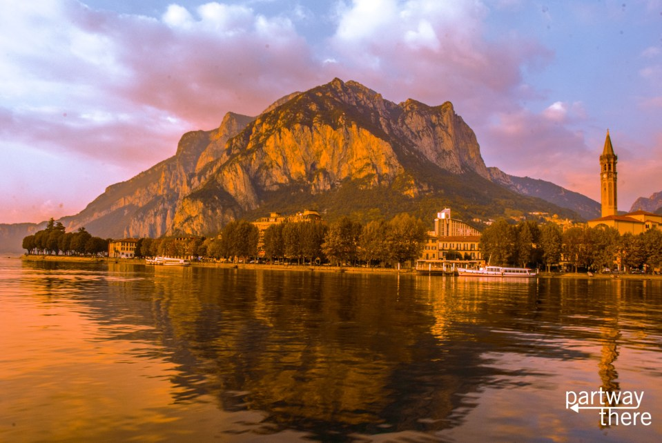Lecco on Lake Como