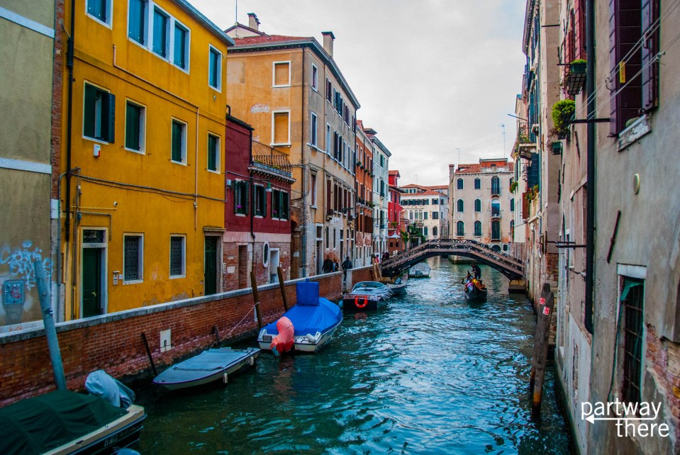 A hidden canal back in Venice