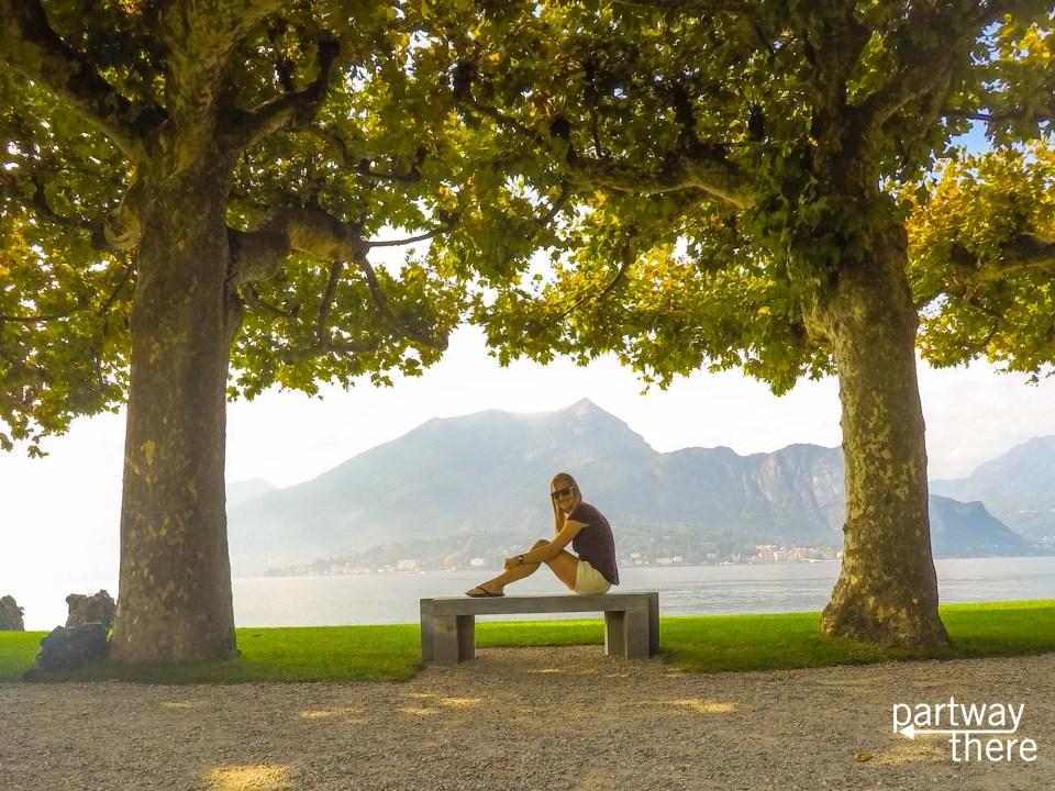 Villa Melzi gardens in Lake Como