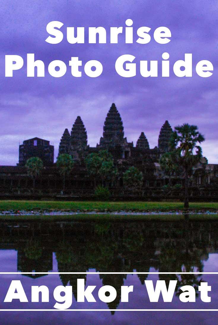 Angkor Wat sunrise photo guide