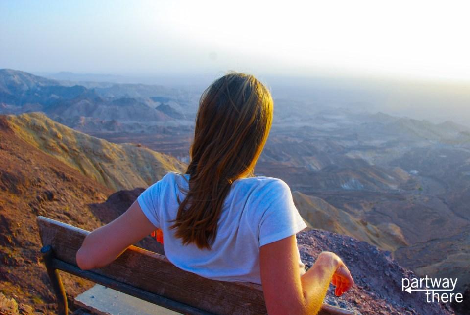 Amanda Plewes in Jordan