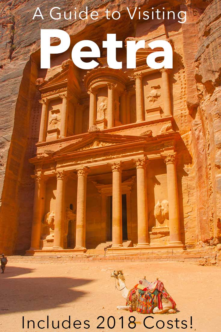 A full guide to visiting Petra with 2018 costs.