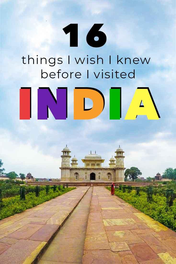 16 things I wish I knew before I went to India