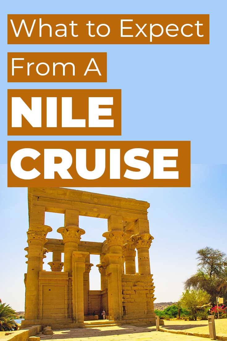 What to expect from a Nile Cruise