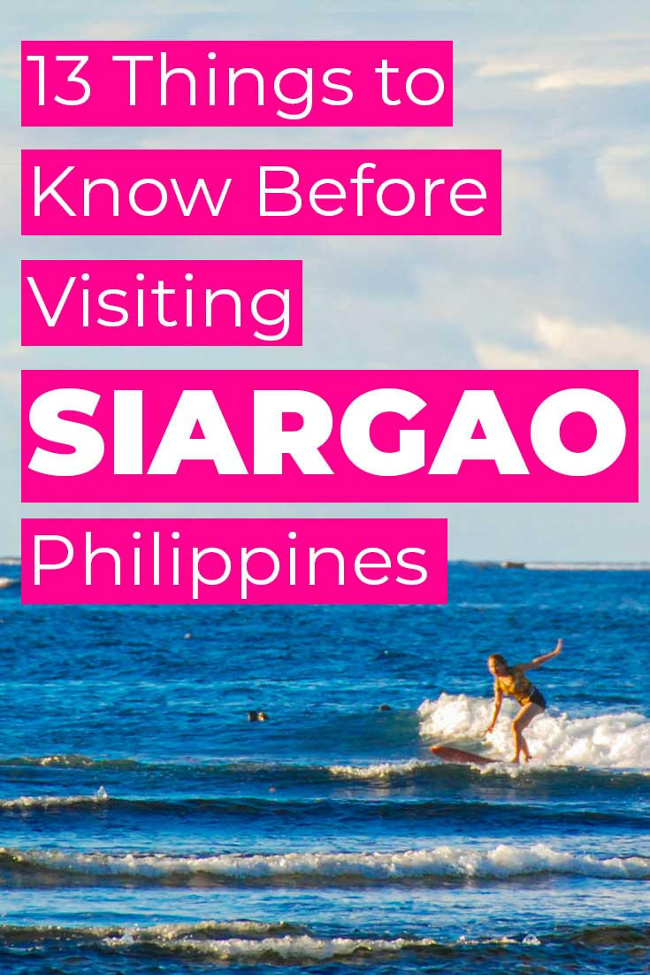 13 Things to Know Before Visiting Siargao, Philippines