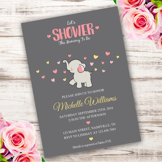 Baby Shower Online Invitationsparty Printables
