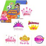 Princess Tattoos in six varieties