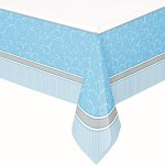 Blue First Communion Tablecover