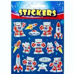Space Robot Stickers