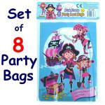 Pink Pirate Party Bags