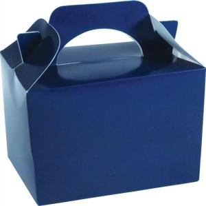 Royal blue party food gift box
